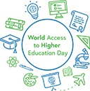 Logo: world access to higher education day