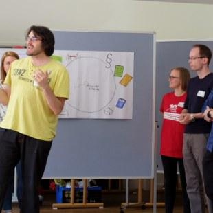 Regionaltreffen Hessen in Gießen: Ideen-Input (Foto: ArbeiterKind.de)
