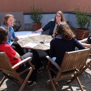 Regionaltreffen Hessen in Gießen: Gesprächsrunde (Foto: ArbeiterKind.de)