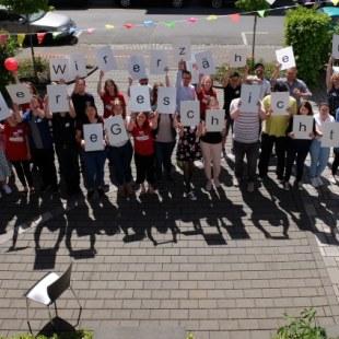 Regionaltreffen Hessen in Gießen: Gruppenfoto (Foto: ArbeiterKind.de)