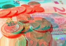 Aufnahme von Geldscheinen und Münzen (Foto: ArbeiterKind.de)