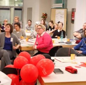 Blick in die Runde des Alumnitreffens 2017 in Hannover (Foto: ArbeiterKind.de)